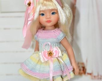 Puppenkleidung 5-Teiliges Set Kleid  28-35 cm Paola Reina und ähnliche Puppen Babypuppen & Zubehör Kleidung & Accessoires