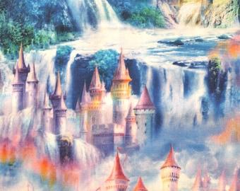 Fabric Fairy Tale Castle Princess