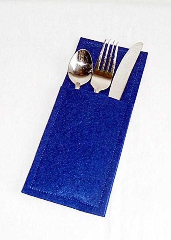 Wunschfarbe Bestecktaschen Aus Filz Besteck Tasche Besteckhülle Tischdekoration