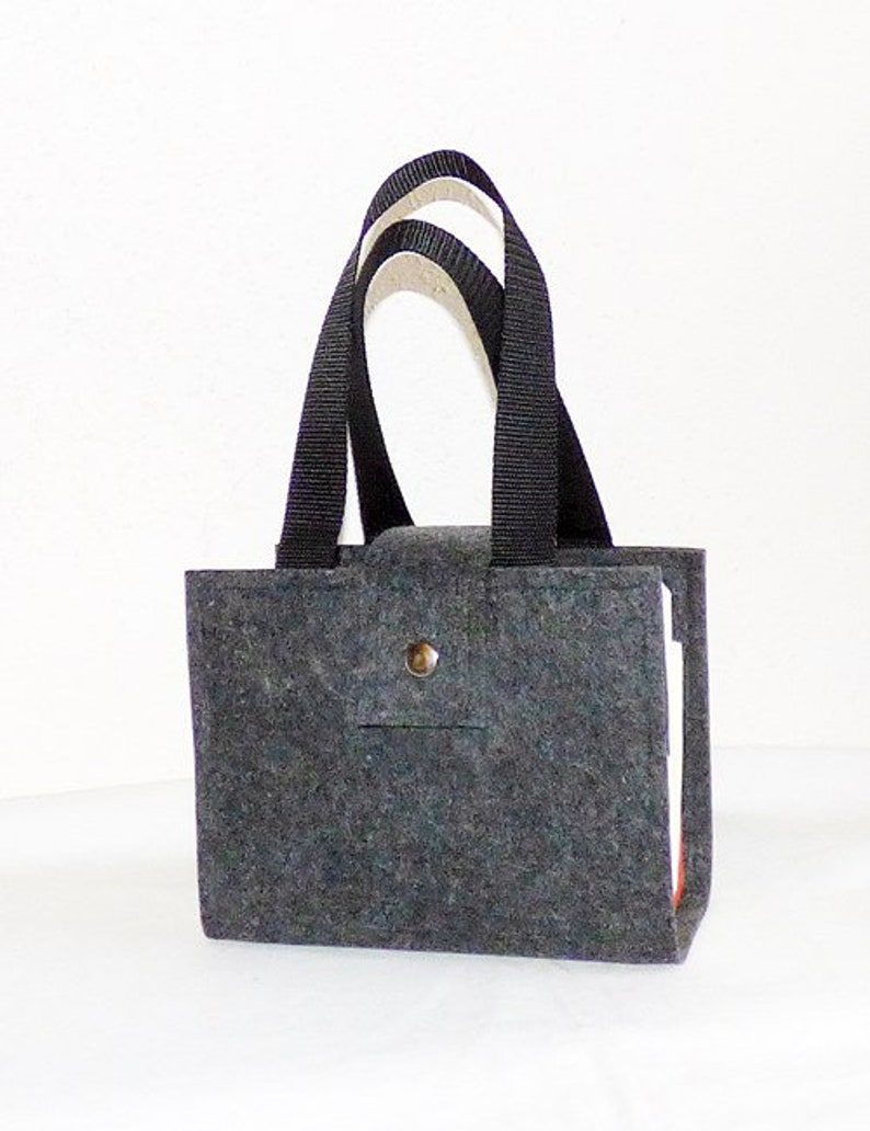 anthracite book cover carrying case law bag 4 mm protective cover felt Beautiful fields Sch\u00f6nfeldertasche