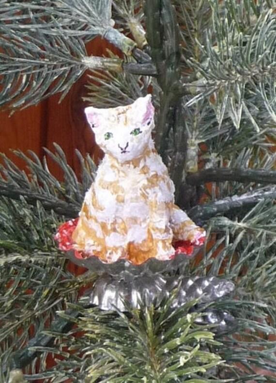 Christbaumschmuck Katze Etsy