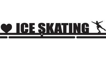 """Medal hanger """"I love Ice skating"""" 56 cm"""