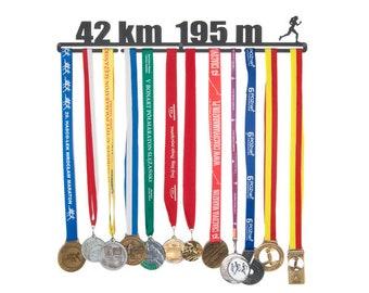 """Medal hanger """"42 km"""" 56 cm for female"""