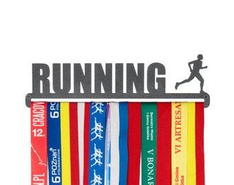 """Medal hanger """"Running"""" for male 28 cm"""
