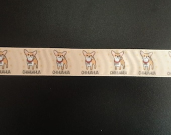 4241 Chihuahua 15 mm width in-house production wearibbon