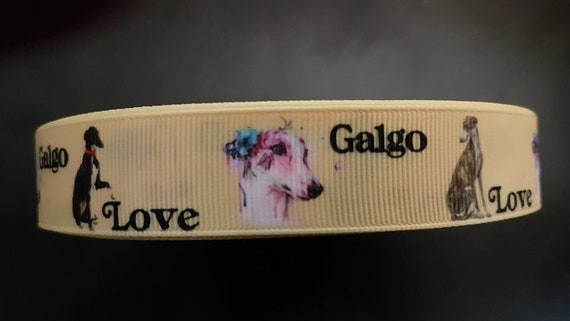 3552 Chihuahua 15mm Breite Eigenproduktion Ripsband Webband Borte