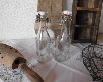 Deko Glasflaschen Etsy
