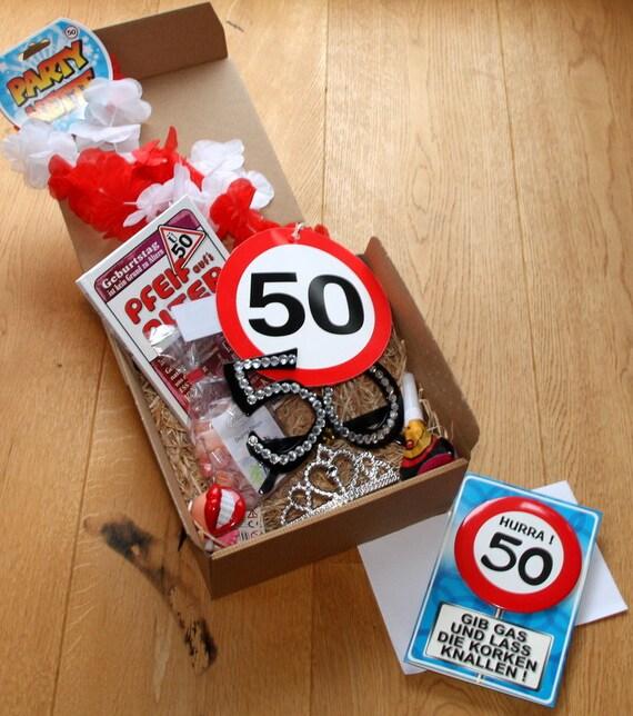 50 Birthday Gift Box Woman