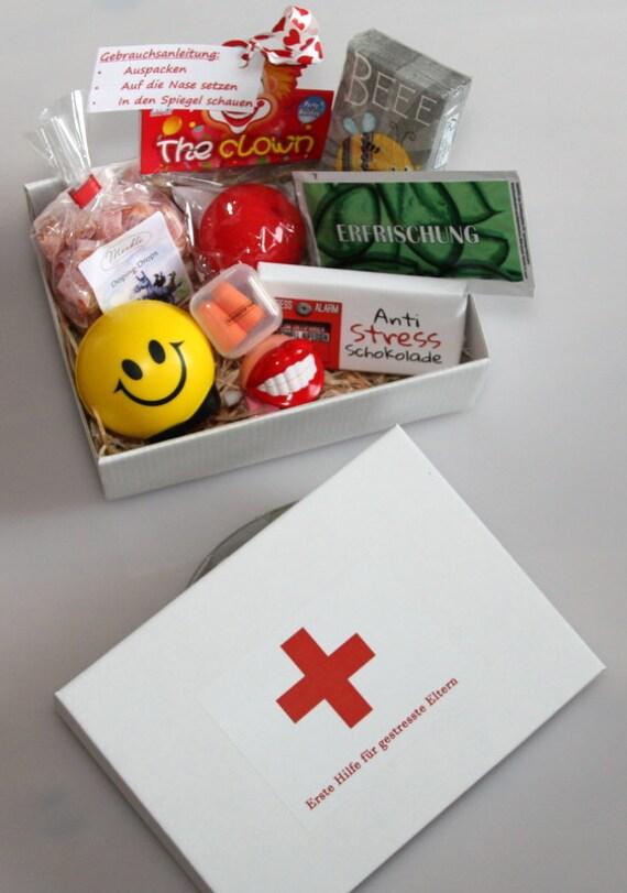 Erste Hilfe Für Gestresste Eltern Geschenke Box Geburt