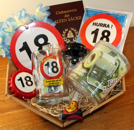 Gift Idea 18 Birthday Basket