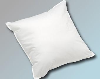 40 x 60 cm pillow fill pillow sofa cushion inner cushion feather pillow cushion 650g in white white blanc bianco