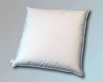 60 x 60 cm Cushion Filling Cushion Sofa Cushion Inner Pillow Feather Pillow Cuddly Pillow 800 g in white white blanc bianco