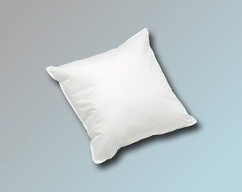30 x 30 cm Pillow Filling Cushion Sofa Cushion Inner Pillow Feather Pillow Cuddly Pillow 170 g in white white blanc or cream beige