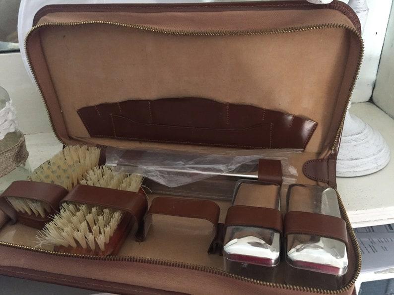 Vintage Old Friesierset Shaving Set Case Franske