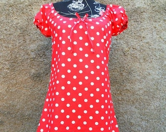 26d6cf28bb1 Einschulung Blumen Punkte Kleid Sommerkleid