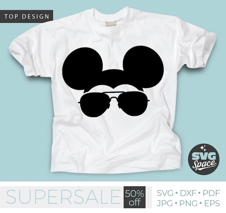 1fbed1bf4c Mickey Aviators Svg Mickey Mouse Sunglasses Svg Boy Shirt