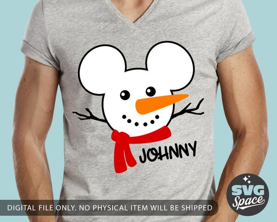 Disney Fille Mickey Mouse Distressed Face T-Shirt
