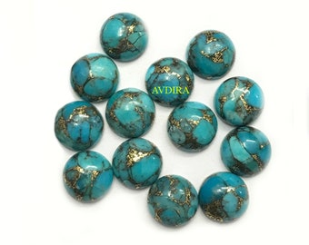 100/%Natural TibatianTurquoise 11 Pieces Mix Lot Cabochon Gemstone.Turquoise Cabs,AAA Quality,Turquoise Cabochon,Pendent,Ring Jewelry Gems