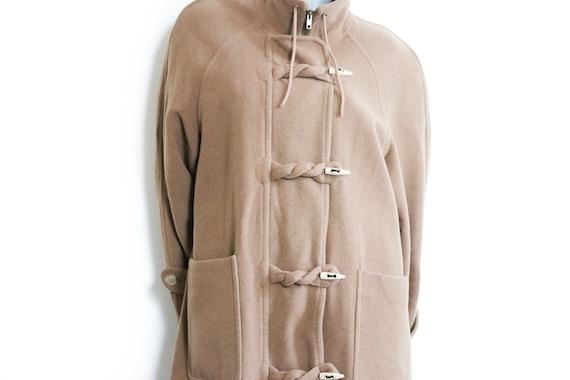 Vintage Coat M/40 Dufflecoat Winter Coat camel Coa
