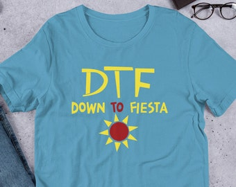 6b6c98e0 DTF Down to Fiesta Unisex T-Shirt | Brooklyn Nine Nine Captain Holt  Inspired Design