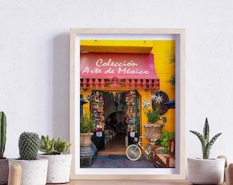 San Pedro Tlaquepaque, Jalisco, Mexico, Street, Windows and doors, Photography, Wall Art, Print, Digital Download