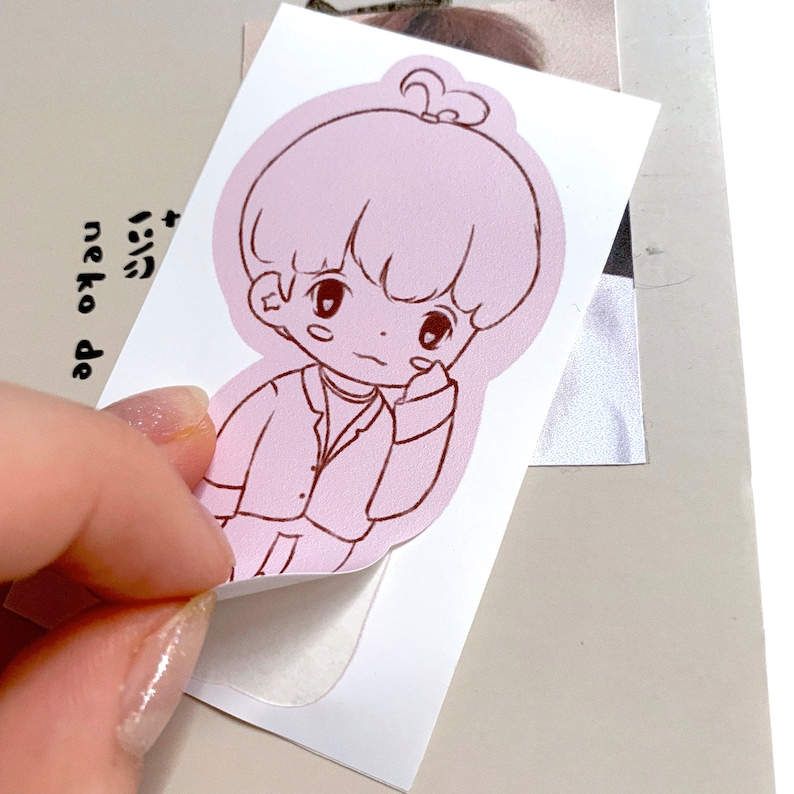 Han Jisung Stray Kids Squirrel Kpop Stationary chibi Sticker