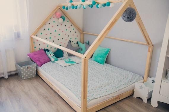 Kinderbett / Hausbett 140x200 Cm