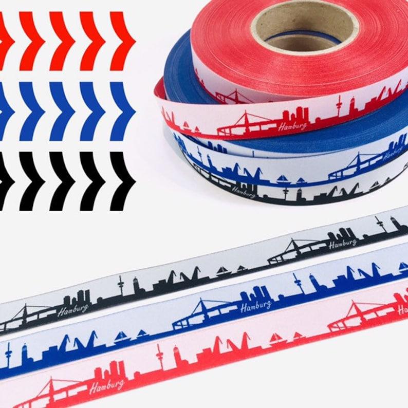 ribbon set 1m Hamburg skyline image 0