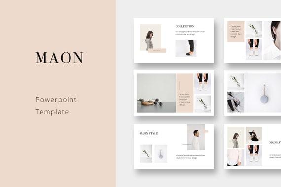 Maon Modern Powerpoint Template