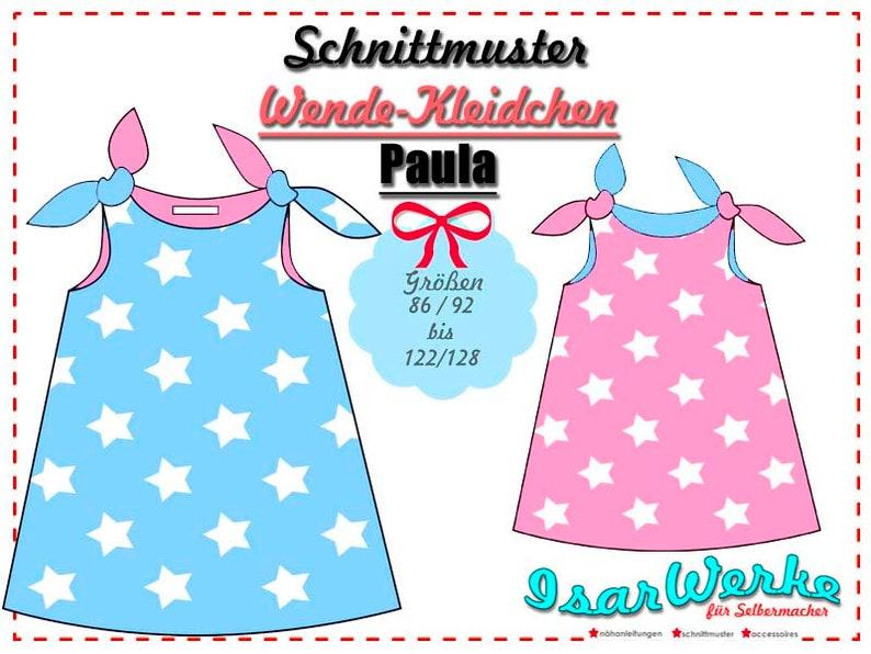 Paper Pattern Flip Dress Paula image 0