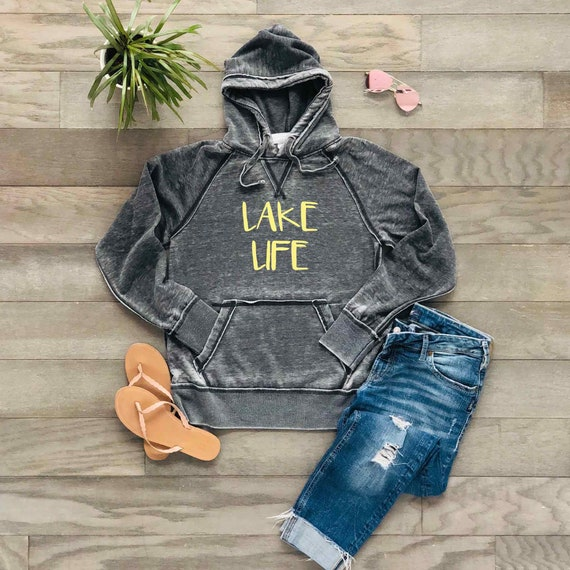 Lake Life super comfy hoodie