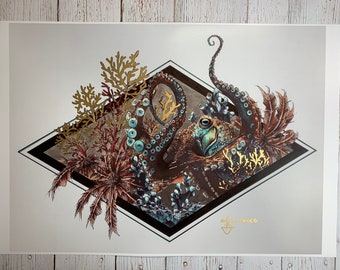 Mr. Octopus large print