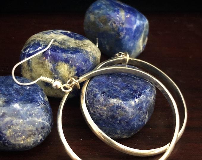 Sterling Silver hooped earrings