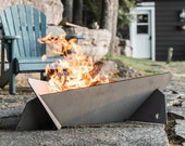 Large Hot Rolled Steel Fire Pit