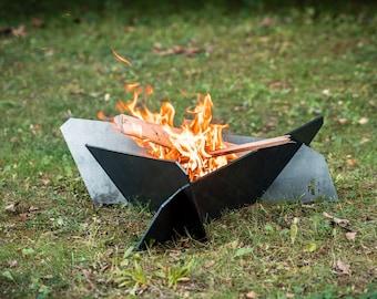 Medium Corten Weathering Steel Fire Pit