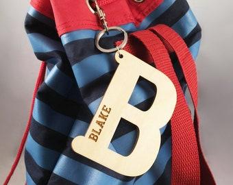 Custom Bag Tags   Wooden Name Bag Tags   Kids Bag Tags   Wooden bag tag    Bamboo bag tag   Custom name tags   Personalised bag tag 3d50129a7d