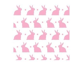 Rose Lapin Blanc Citation Lapin Cadeau Drôle De Lapin Maison Signe lapin plaque 256