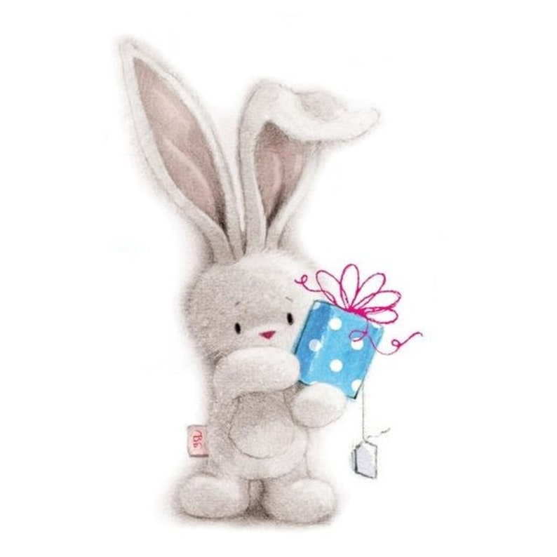 7 Stamp plates Special friend Rabbit