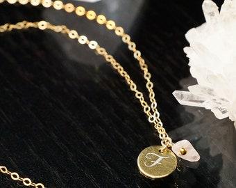 Kinderkette mit Namensgravur SPRINGTIME GOLD 925 Silbermedaillon Schmetterling