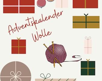 Advent Calendar Wool 2021, pre-order