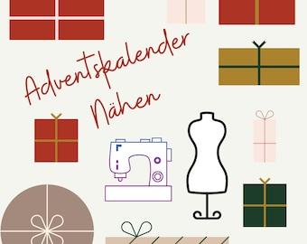 Advent Calendar Sewing 2021, Pre-Order