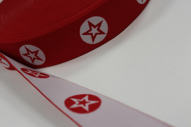 red soft star band 40 mm 1 m great