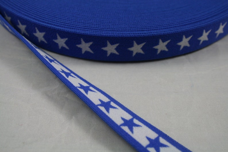 blue 1 m great soft star band 40 mm