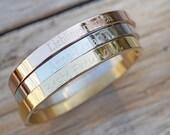 Bangle Engraving Personalized Stainless Steel Bracelet Gold Birthday Name Initial to Birth Gift Wedding JGA Hen Stheses Wedding