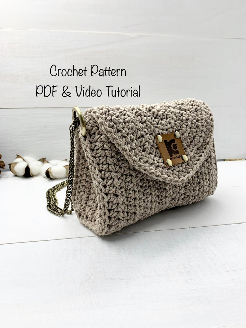 Crochet pattern: crochet purse pattern pdf file photos and image 0