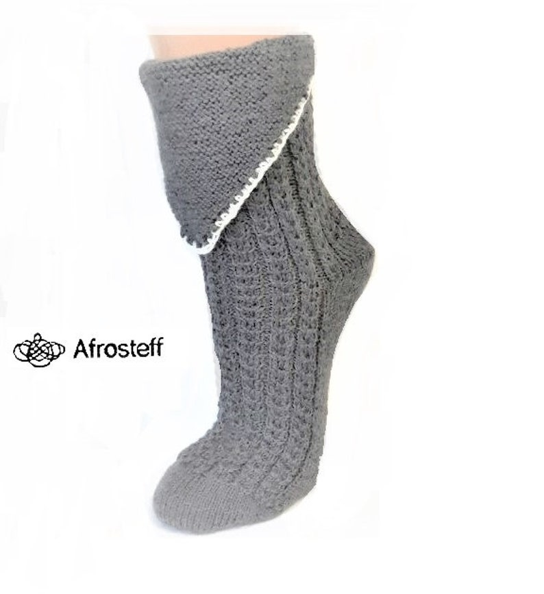 483b0b698 Tracht socks Hand knitted for you and gr. 41 42 Wool socks