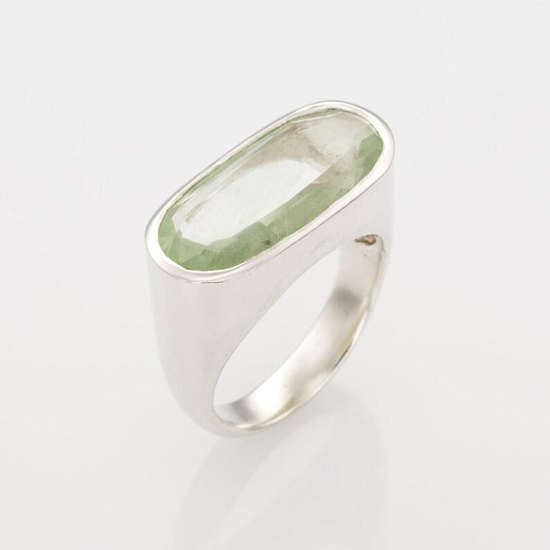 stone ring aquamarine Israely Jewelry aquamarine ring silver statment ring. silver gemstone ring statement ring