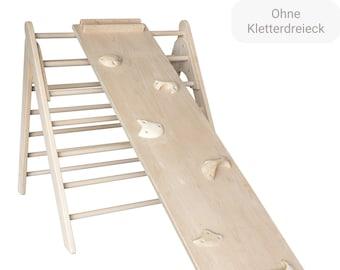 KlapperSpecht Climbing Wall / Slide