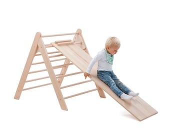 KlapperSpecht Chicken Ladder, Slide Board for Climbing Triangle