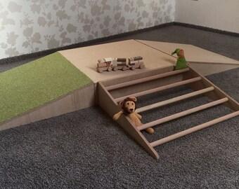 Kletterbogen Bausatz : Pikler etsy